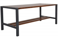 Moderný záhradný stôl Palisander