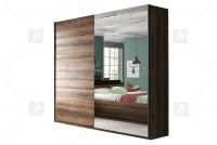 Skříň s posuvnými dveřmi Beta 180 Dub monastery-Zrcadlo 22ZB1676
