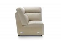 Rohová sedacia súprava s funkciou spania Libretto 2,5F-E-1-1HT/BK - Výpredaj element narozny