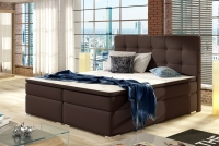 Boxspring posteľ Inez 160 x 200 Hnedá Spálňa