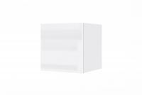 Závesná skrinka Combo 1 - Biela/MDF Biely lesk