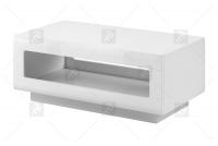Konferenčný stolík Tulsa 99 Biely/Biely lesk (MDF) 2497FJ - výpredaj Biely stolík