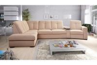 Rohová sedacia súprava z elektrycznie wysuwana funkcja Relax Presto OTM-BK/2,5F/TT/1RFele - Dopredaj kolekcie