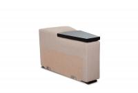 Rohová sedacia súprava z elektrycznie wysuwana funkcja Relax Presto OTM-BK/2,5F/TT/1RFele - Dopredaj kolekcie   modul naroznika