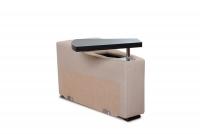 Rohová sedacia súprava z elektrycznie wysuwana funkcja Relax Presto OTM-BK/2,5F/TT/1RFele - Dopredaj kolekcie   otwierana Polica