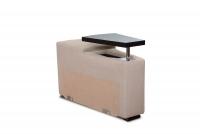 Rohová sedacia súprava z elektrycznie wysuwana funkcja Relax Presto OTM-BK/2,5F/TT/1RFele - Dopredaj kolekcie   modul ze schowkiem