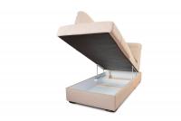 Rohová sedacia súprava z elektrycznie wysuwana funkcja Relax Presto OTM-BK/2,5F/TT/1RFele - Dopredaj kolekcie   Úložný priestor