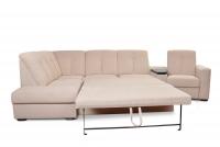 Rohová sedacia súprava z elektrycznie wysuwana funkcja Relax Presto OTM-BK/2,5F/TT/1RFele - Dopredaj kolekcie   Rohová sedacia súprava z opcja spania