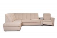 Rohová sedacia súprava z elektrycznie wysuwana funkcja Relax Presto OTM-BK/2,5F/TT/1RFele - Dopredaj kolekcie   funkcja Relax w fotelu