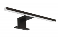 Lampa LED do kúpeľne ALA Čierny 30 cm