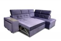 Rohová sedacia súprava s funkciou spania i polka Luki V Rohová sedacia súprava rozkladany do spania