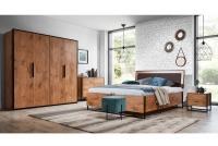 Posteľ do  spálňa  Loft 160x200 - S vnútorným úložným priestorom- Výpredaj expozície spálňa loft