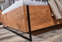 Posteľ do  spálňa  Loft 160x200 - S vnútorným úložným priestorom- Výpredaj expozície lozko loft