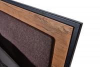 Posteľ do  spálňa  Loft 160x200 - S vnútorným úložným priestorom- Výpredaj expozície wezglowie loft