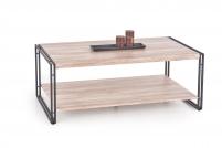 BAVARIA Konferenční stolek Dub San Remo / Černý