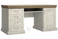 Písací stôl Royal B1 - Borovica Nordic/Divoký dub