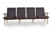 Kreslo - Klubová lavica do čakárne 4 os. lawki do čakárne