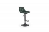 H95 Barová stolička tmavý Zelený