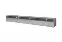 Komoda TV 3K z mozliwoscia powieszenia Baros - svetlý beton