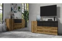 Komplet nábytku II Power I Satin Ořech - touchwood 24Z6JE