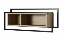 Komplet nábytku do obývačky Sitkah  Polica závesná do salonu
