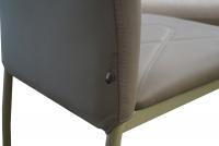 Stolička H623 tmavý BEZ/tmavý BEZ rám - výpredaj