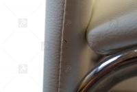 Stolička K135 biely - Výpredaj expozície oparcie Stoličky