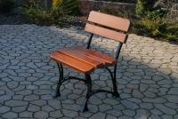 Kráľovská stolička Cyprys bez lakťových opierok