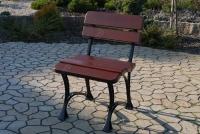 Kráľovská stolička Višňa bez lakťových opierok