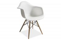 Stolička Mondi biely - Výpredaj expozície