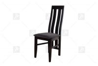 Stolička Narta N - Výpredaj expozície ciemne Stolička drewniane