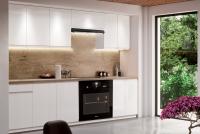 Kuchyně Aspen Bílý lesk - Komplet nábytku Kuchyňských 2,4
