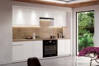 Kuchyně Aspen Bílý lesk - Komplet nábytku Kuchyňských 2,6