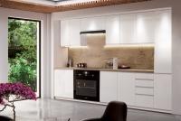 Kuchyně Aspen Bílý lesk - Komplet nábytku Kuchyňských 2,8