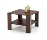 KWADRO KWADRAT Konferenční stolek Barva Tmavý Ořech