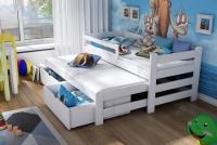 Detská posteľ Alis s výsuvným lôžkom DPV 001 Certifikát