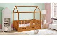 Detská posteľ domček Dora 2 Certifikát Posteľ domek z barierkami