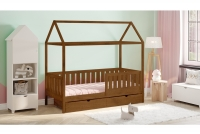 Detská posteľ domček Dora 2 Certifikát Posteľ detský z  duzymi szufladami