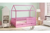 Detská posteľ domček Dora 2 Certifikát rozowe Posteľ detský domek