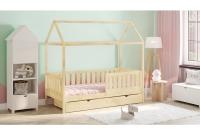 Detská posteľ domček Dora 2 Certifikát sosnowe Posteľ detský domek