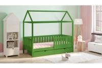 Detská posteľ domček Dora 2 Certifikát Zelené Posteľ dziciece domek