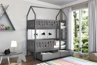 Poschodová posteľ domček Dolores Certifikát posteľ drewniane