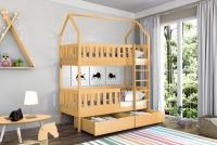 Poschodová posteľ domček Dolores Certifikát posteľ pietrowe