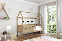 Detská posteľ domček Dora Certifikát Posteľ dora w ksztalcie domku