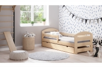 Drevená detská posteľ Wiola II