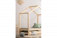 Detská posteľ v tvare domčeka Arek II  posteľ drewniane