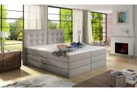 Boxspring posteľ Fendy 180 x 200 - výpredaj Posteľ z materacem