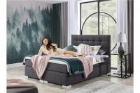 Boxspring posteľ Inez 160 x 200 szara Spálňa