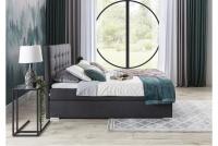Boxspring posteľ Inez 160 x 200 lzoko z wysokim wezglowiem