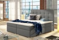 Boxspring posteľ Inez 160 x 200 szare Posteľ z pikowaniem